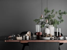 Christmas: scandinavian Dining room by BoConcept Bristol