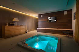 modern Spa by Andrea Bonini luxury interior & design studio