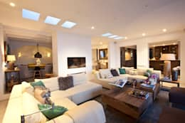 mediterranean Living room by ANTONIO HUERTA ARQUITECTOS