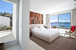 mediterranean Bedroom by ANTONIO HUERTA ARQUITECTOS