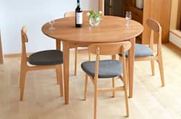 modern Dining room by 木工房玄徳