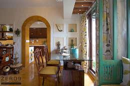 Salas / recibidores de estilo rural por ZERO9