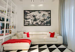 modern Living room by SERENA ROMANO' ARCHITETTO