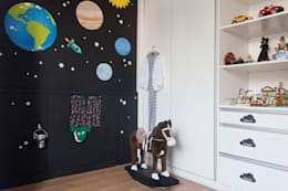 modern Nursery/kid's room by Nina Moraes Design Infantil