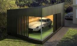 Nhà để xe tiền chế by ecospace españa