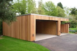 Prefabricated Garage by ecospace españa
