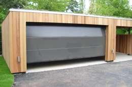 Autospace: Garajes prefabricados de estilo  de ecospace españa