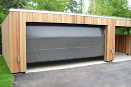 Autospace: Garajes de estilo moderno de ecospace españa