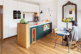 scandinavian Kitchen by BKBS