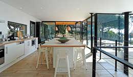 modern Kitchen by frederique Legon Pyra architecte