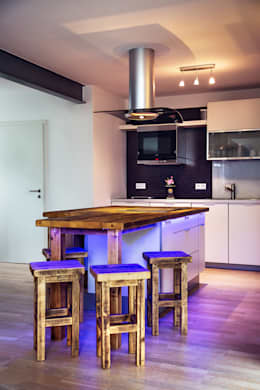 rustic Kitchen by edictum - UNIKAT MOBILIAR
