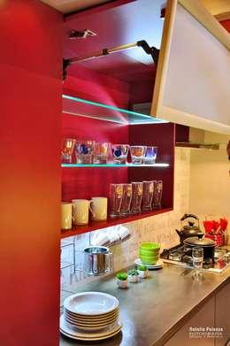 Cocina Contemporánea: Cocinas de estilo moderno por D&C Interiores