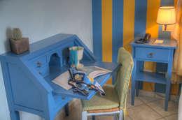 Chambre de style de style Méditerranéen par Emilio Rescigno - Fotografia Immobiliare