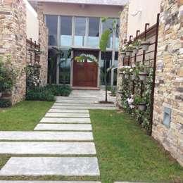 Projekty,  Ogród zaprojektowane przez BAIRES GREEN