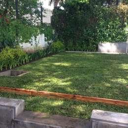 PEQUEÑOS JARDINES. lindas vistas..: Jardines de estilo moderno por BAIRES GREEN