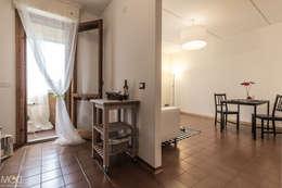 مطبخ تنفيذ Michela Galletti Architetto e Home Stager