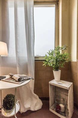 Projekty,  Ogród zimowy zaprojektowane przez Michela Galletti Architetto e Home Stager