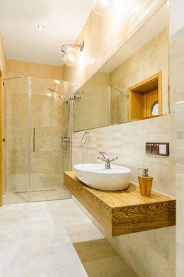 浴室 by Kameleon - Kreatywne Studio Projektowania Wnętrz
