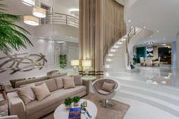 Salas de estilo moderno por Arquiteto Aquiles Nícolas Kílaris