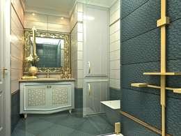 Projekty,  Łazienka zaprojektowane przez CCT INVESTMENTS