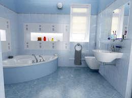 CCT INVESTMENTS – Interior Designs : modern tarz Banyo