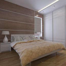 Дизайн загородного дома в п. Приветинское: Спальни в . Автор – Design interior OLGA MUDRYAKOVA
