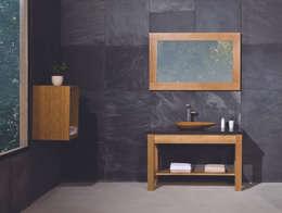 minimalistic Bathroom by Stonearth Interiors Ltd