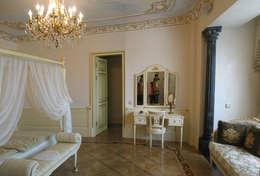 Квартира на Ксеньинском: Спальни в . Автор – Дизайн-студия «ARTof3L»
