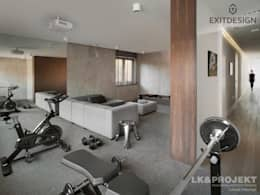 moderne Fitnessruimte door LK & Projekt Sp. z o.o.