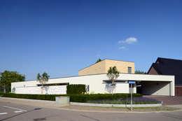 Droomvilla : moderne Huizen door Engelman Architecten BV