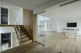 modern Study/office by PAWEL LIS ARCHITEKCI