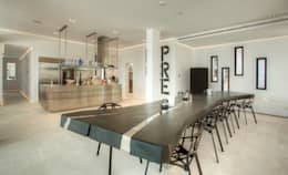 Salas de jantar modernas por MG&AG.ARQUITECTOS