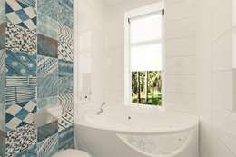 minimalistic Bathroom by Ivantsov design studio