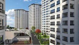 Maisons de style de style Moderne par CCT INVESTMENTS