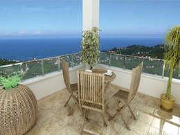 Terrasse de style  par CCT INVESTMENTS