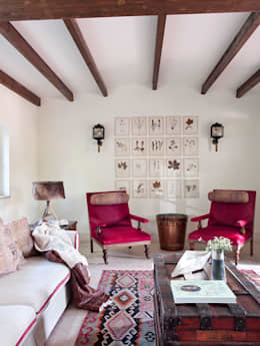 Salon de style de stile Rural par SA&V - SAARANHA&VASCONCELOS