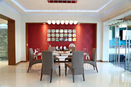 modern Dining room by arketipo-taller de arquitectura