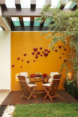 Terrazas de estilo  por arketipo-taller de arquitectura
