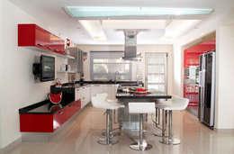 modern Kitchen by arketipo-taller de arquitectura
