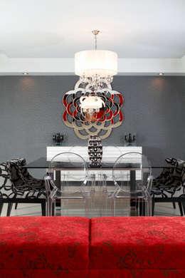 modern Dining room by arketipo-taller de arquitectura
