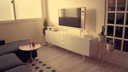 Chambre de style de style Scandinave par toki