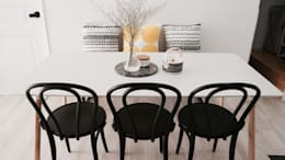 scandinavian Dining room by toki