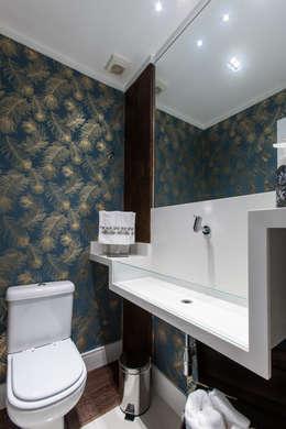 moderne Badkamer door Paula Carvalho Arquitetura