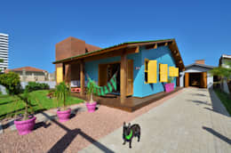 Maisons de style de style Tropical par Arquitetando ideias