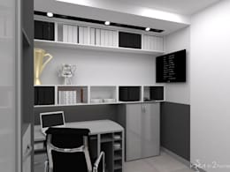 modern Study/office by in2home