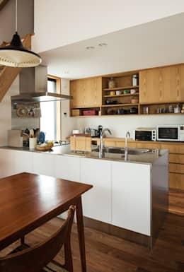 modern Kitchen by 藤森大作建築設計事務所