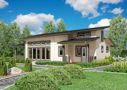 Woody-Holzhaus - Kontio: iskandinav tarz tarz Evler