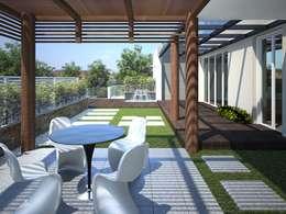 Projekty, nowoczesne Domy zaprojektowane przez 3DArchPreVision