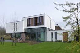 modern Houses by Maas Architecten