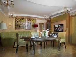 Квартира для любимых родителей: Гостиная в . Автор – LUXER DESIGN